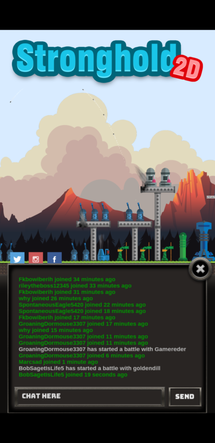 multiplayer in-game chatroom